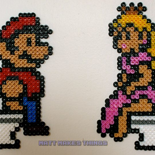 Mario and Princess Toilet